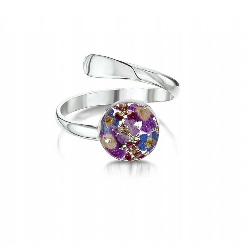 Purple Haze Adjustable Ring